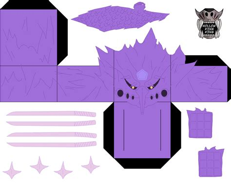 Sasuke Papercraft - sasuke susanoo p1 by hollowkingking on deviantart