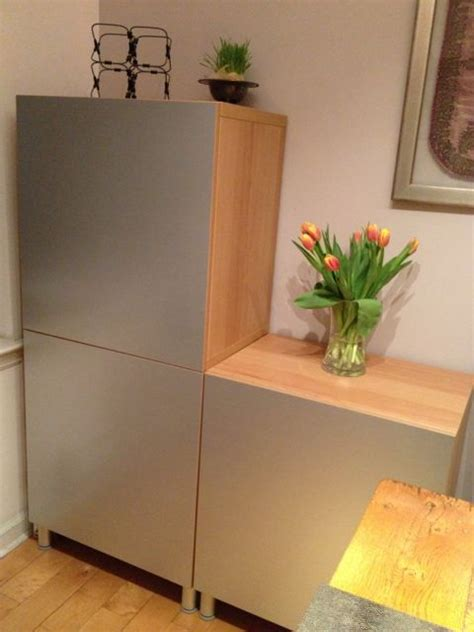 ikea besta vara ikea besta vara cabinets with panyl in brushed aluminum
