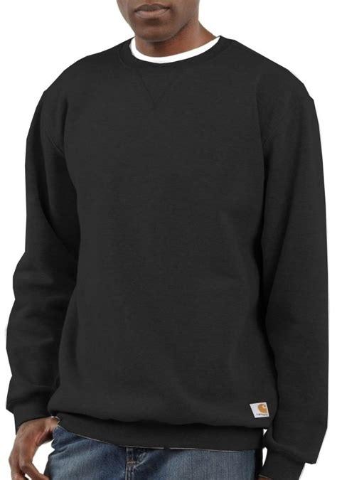 Sweatshirt Workwear Black carhartt crew neck sweatshirt mammothworkwear