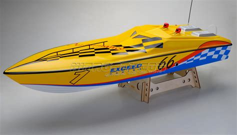 fast gas powered rc boats exceed racing fiberglass performance 26cc gas powered artr