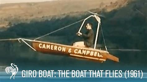 giro boat giroboat aka giro boat the boat that flies 1961