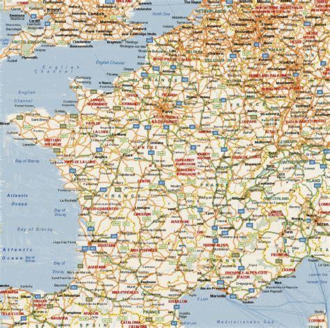 frankreich geographische karten von frankreich alle