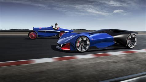peugeot l500r hybrid concept supercar wallpaper hd car
