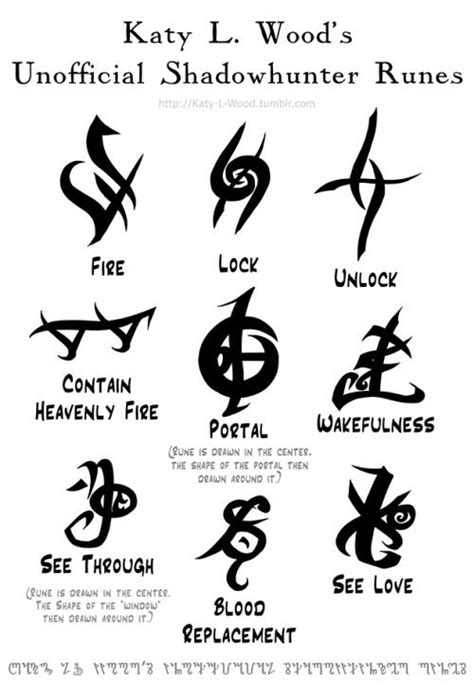 recall rune mortal instruments - Google Search | mortal