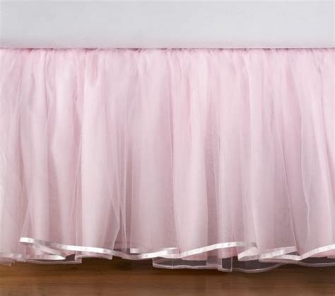 Tulle Bed Skirt For Little Girls Room Tulle Stuff Pinterest