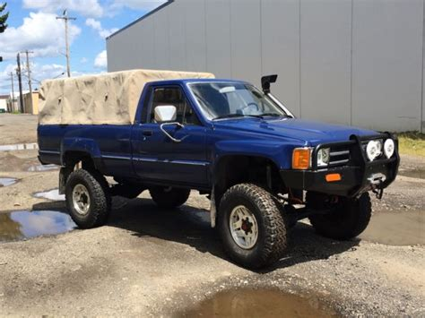 toyota truck diesel 1985 toyota ln65 hilux turbo diesel 4x4 truck bed