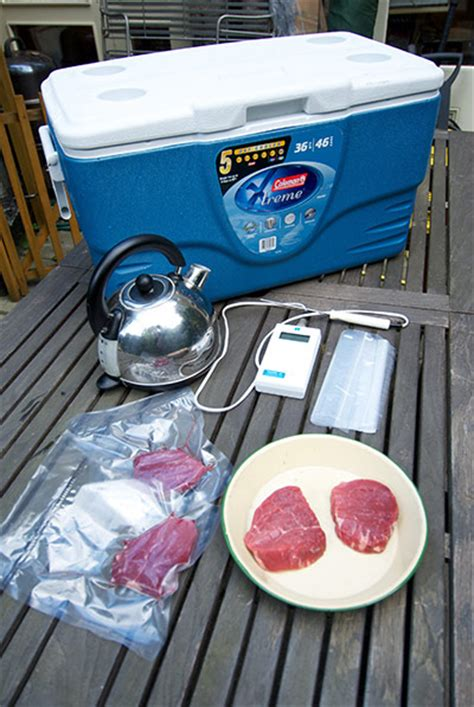 Sous Vide Sousvide Tool Home Made how to cook diy sous vide steak in pictures and style the guardian