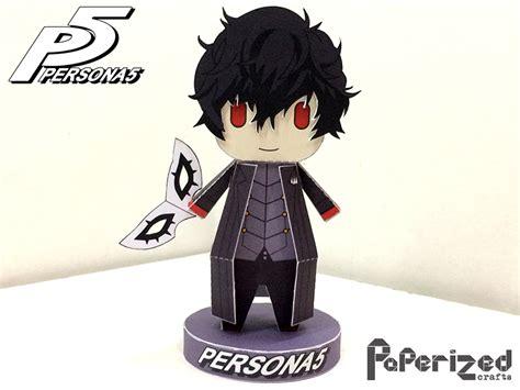 Persona Papercraft - persona 5 joker papercraft by paperizedcrafts on