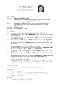 Curriculum Vitae In French by Tracy Nowocien Cv English