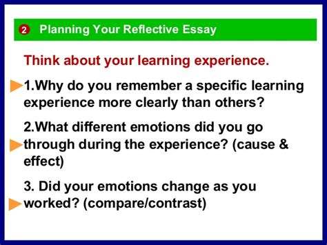 Reflective Essays On Learning Experiences reflective essay on learning experience writefiction581 web fc2