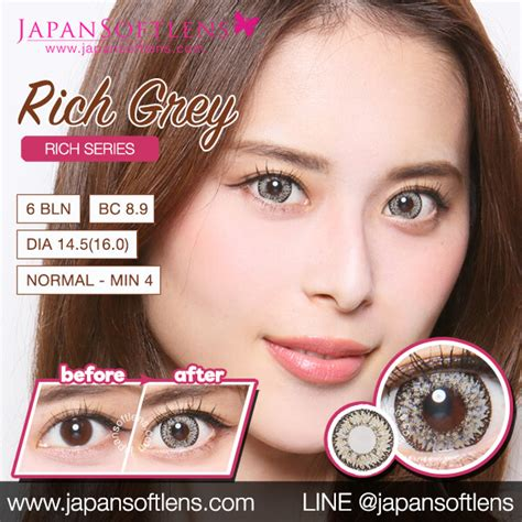 Softlens Gel Ageha Soft Lens Gel Ageha Dia 15mm Water 55 Korea Terl softlens grey ageha rich grey japan softlens
