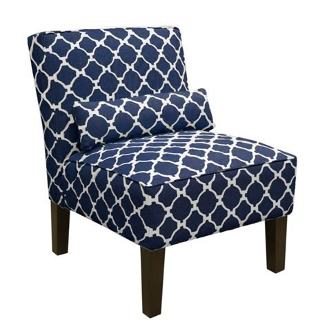 navy blue pattern accent chair south accent chair in navy living room chairs