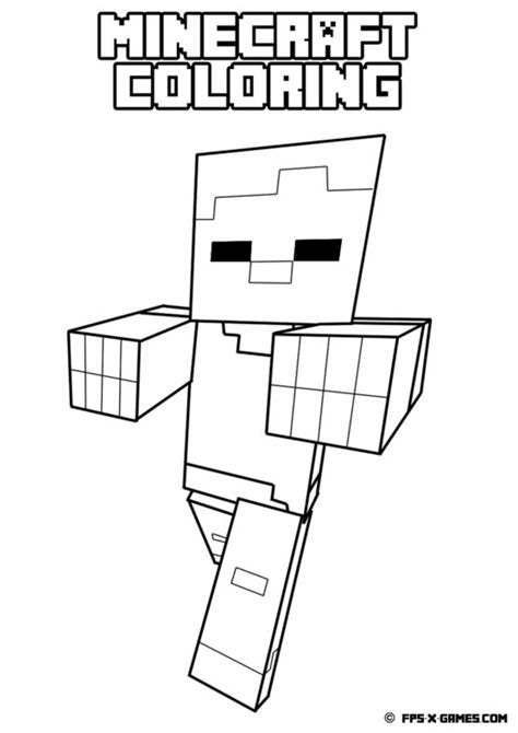 minecraft coloring pages ghast free coloring pages of ghast minecraft