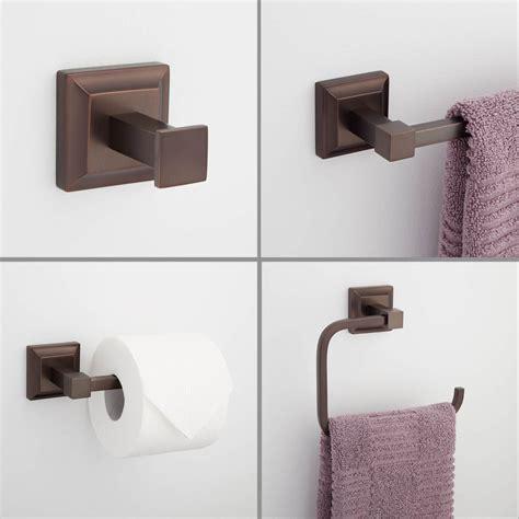 aaliyah 4piece bathroom accessory set bathroom hardware