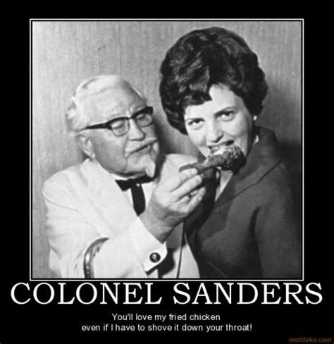 Colonel Sanders Memes - batwings balls