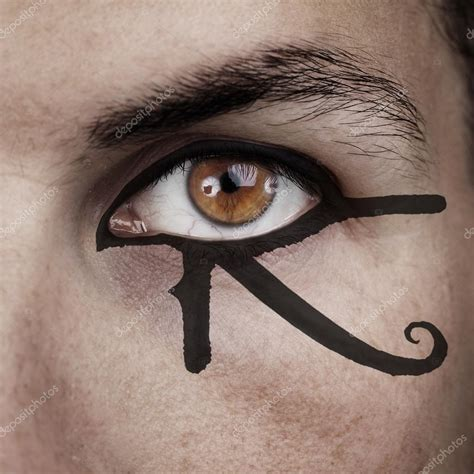 eye of horus make up stock photo 169 tommasolizzul 56329769
