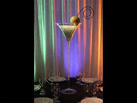 Large Martini Glass Vases Centerpieces by Martini Glass Vase Centerpiece Weddingbee Photo Gallery