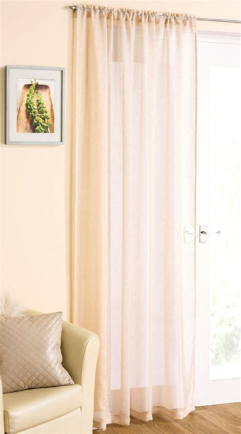 gorgeous drapes gorgeous pale gold sparkle glitter voile net curtain panel