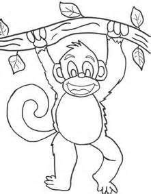 preschool coloring pages monkeys 1000 images about preschool zoo crafts on pinterest zoo