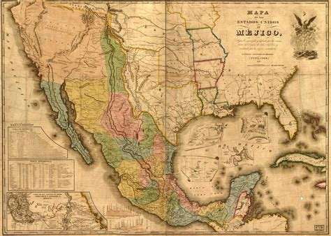 mexico and texas map earlypresidents p5 20 24