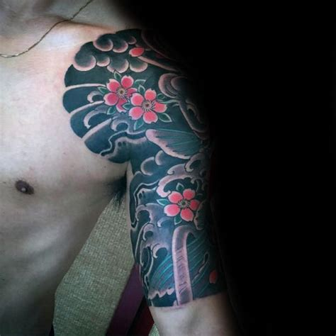 cherry blossom half sleeve tattoo designs 100 cherry blossom designs for floral ink ideas