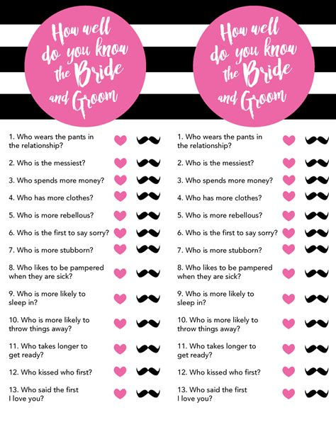 printable bridal shower games and activities kate spade inspired bridal shower free printables lou