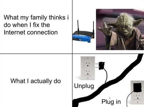 Internet Speed Meme - yoda
