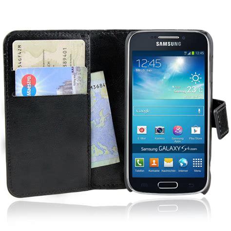 Flipcover Samsung S4 Zoom C101 samsung galaxy s4 zoom c101 handy tasche schwarz flip