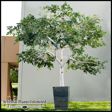 large artificial trees custom artificial trees fabricated trees large