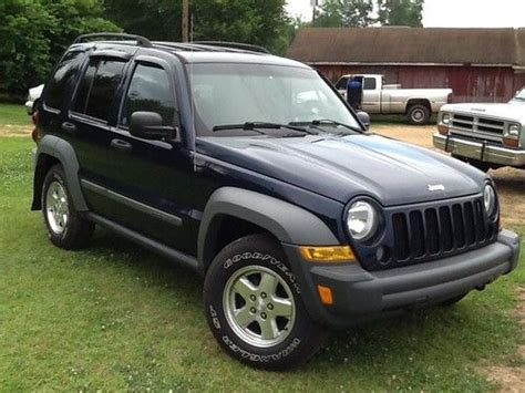 2006 diesel jeep liberty sell used 2006 jeep liberty sport crd diesel in sulligent