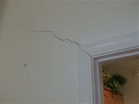 interior wall in sheet rock from settling foundation