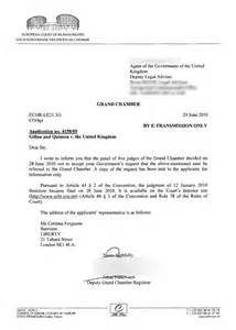 Appeal Letter Sle Uk Uk Government Reacts To European Stop And Search Appeal Rebuff Update With Court S Letter