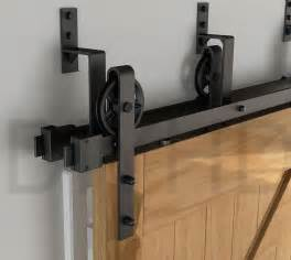 Barn Door Hardware Interior Aliexpress Buy Diyhd 2m Bypass Big Spoke Wheel Sliding Barn Wood Door Track Hardware
