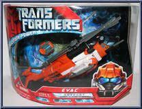 Transformers 2007 Allspark Power Voyager Autobots Evac evac allspark power transformers voyager class hasbro figure