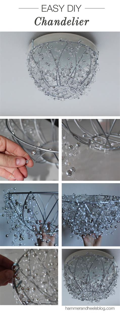 How To Make Mason Jar Chandelier Fantastic Diy Chandelier Tutorials And Ideas For
