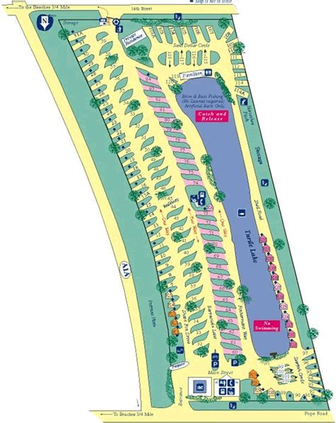 florida cground map st augustine florida tent cing st augustine