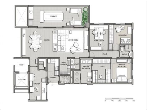 contemporary home designs floor plans modern home design