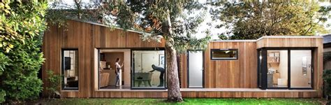 backyard studio prefab this prefab london backyard studio is as cool as a custom cottage inhabitat green