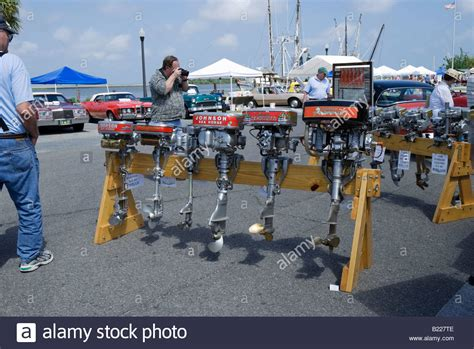 antique boat show florida 2017 antique outboard boat motors at the annual historic