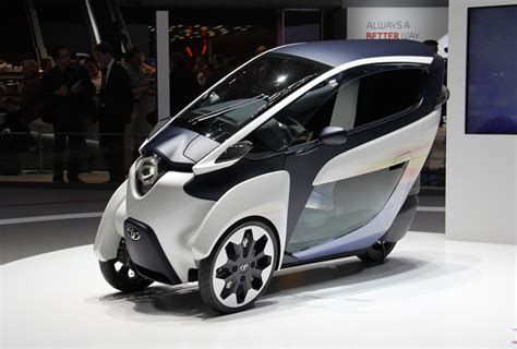 Toyota Electric Toyota I Road Electric Personal Mobility Vehicle