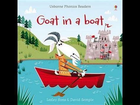 boat books usborne books kit book 4 phonics readers quot goat in a boat