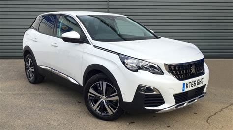 peugeot 3008 white 2017 used peugeot citroen ds cars approved used cars