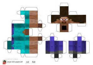 minecraft papercraft gallery
