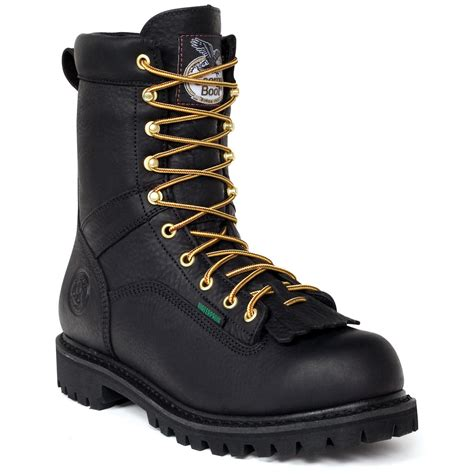 s 8 quot waterproof logger work boots black