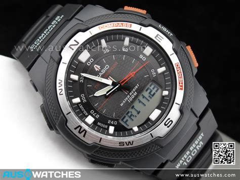 Casio Thermometer buy casio sensor compass thermometer moon data sgw 500h 1b sgw500h buy watches