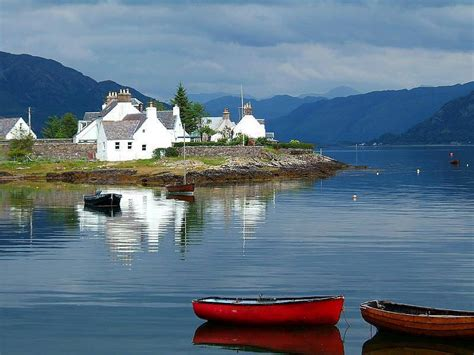 Combination Of Blue by Plockton A Photo From Highland Scotland Trekearth