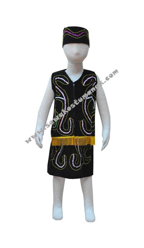 Baju Adat Dayak Bakati pakaian adat dayak baju adat dayak sewa kostum anak di jakarta dan indonesia