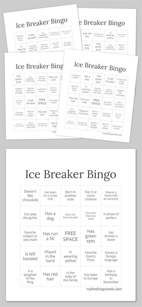 printable christmas icebreakers 132 best bingo fun images on pinterest bingo cards