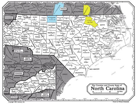 counties carolina map pryor wills ezra mildred and william of halifax county