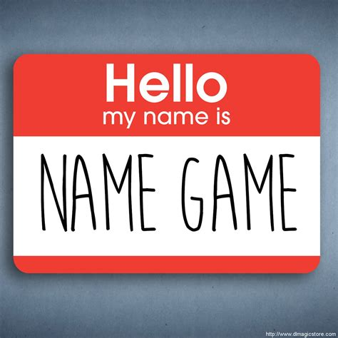 name this name game by spidey rick lax dlmgicstore com